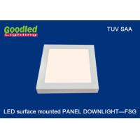 Quality Surface Mounted LED Ceiling Light 240mm x 240 mm , 3700K - 4500K For Hotels for sale