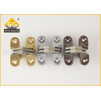 Wholesale Adjustable Invisible Small Cupboard Hinges For Wooden Box Itatly Type from china suppliers