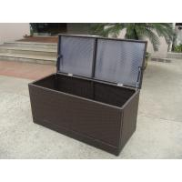 Wholesale Brown Resin Wicker Storage Box from china suppliers