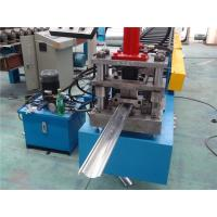 Wholesale Chain Driven Door Frame Roll Forming Machine PLC control 128mm Coil width from china suppliers