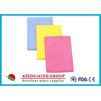 Wholesale Needlepunched Nonwoven Cleaning Wipes Color Dyeing Disposable Or Recycle use from china suppliers