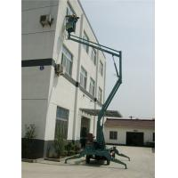 Wholesale Aerial Hydraulic Boom Lift Steel Material 2.8 × 1.2 × 2.45 Color Customized from china suppliers