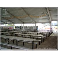 Buy cheap Beer Festival PVC Clear Span Tents Waterproof Marquee Hire 20x50M 1000 Sqm from wholesalers