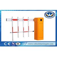 Wholesale AC Motor Fence Arm Gate Barrier Automatic Car Park Barrier with Fence Boom from china suppliers