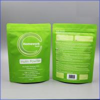 Wholesale Matte White Doypack Plastic Pouches Packaging Zipper Top Plastic Coffee Bag With Valve from china suppliers
