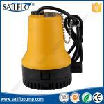 Sailflo yellow color 12V boat submersible bilge pump for marine/boat