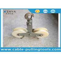 Wholesale Model SHR-2.5 25KN Tandem Sheave Stringing Blocks With Nylon Wheel from china suppliers