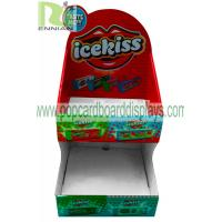 Quality Sweet Cardboard Retail Display Stand / Candy Corrugated Cardboard Displays ENCD120 for sale