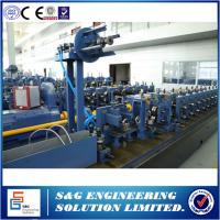 Quality 160KW Power Welded Pipe Production Line With Pipe Roll Forming Machine PLC Control for sale