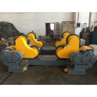 Wholesale Self Adjustable Pipe Rollers For Welding , 0.1m / Min - 1m / Min Wheel Speed from china suppliers