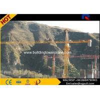 Wholesale QTZ5613 8T Lifting Load Building Tower Crane Jib Length 13.36m With Remote Control from china suppliers