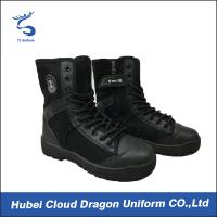 Wholesale Winter Military Comfortable Security Boots / Outdoor Desert Security Dress Shoes from china suppliers