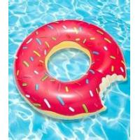 Wholesale 80CM PVC 0.3mm thickness inflatable donut tube / rings for beauty girl from china suppliers
