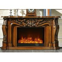 Wholesale CE LED Flame Stand Alone Modern Electric Fireplace With Heater from china suppliers
