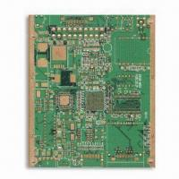 Wholesale Multilayer PCB with Gold Plating and FR4 Base Material, 4 Layers, 1 OZ Copper Thickness from china suppliers