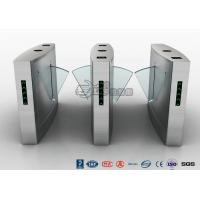 Wholesale Indoors Flap Barrier Turnstile / Entrance Automatic Bi Directional Turnstile,Pedestrian Barrier Gate from china suppliers