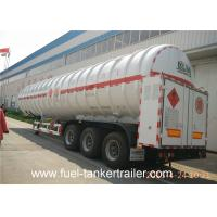Wholesale Two - layer tank structure LNG Semi Trailer with effective volume 52m3 from china suppliers