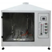 Wholesale Single Cable Tilt Combustion Testing Equipment , Fire Test Chamber UL Standards from china suppliers