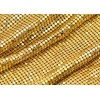 Wholesale 4mm Beautiful Shiny aluminum Metal Sequin Fabric for decoration from china suppliers