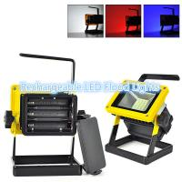 Buy cheap Colour changing Outdoor LED Flood Lights , White red blue multi coloured led flood lights from wholesalers