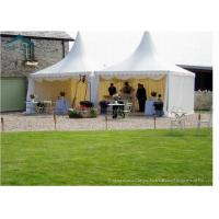 Wholesale 8m * 8m Large Sun / Water / Fire Proof Pagoda Tents With Roof Linings For Outdoor Party from china suppliers