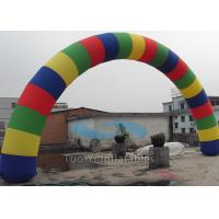 Wholesale Rainbow Balloon Arch Inflatable Start Finish Line Event Archway from china suppliers