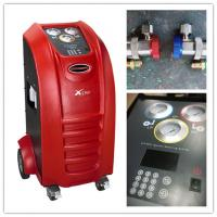 China Red Automotive Ac Recovery Machine 750W Input Power 5.4m³/h Vacuum Ability on sale