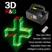 Wholesale Red+Green color 3D effect Mini Laser Projector with scanner  (single hole) from china suppliers