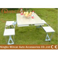 Wholesale Vehicle Camping Folding Table and Chair Set , Folding Picnic Tables from china suppliers