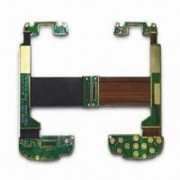 Wholesale Rigid-flexible PCB, Made of FR-4 and Polyimide, with 1.2mm FPC Thickness from china suppliers