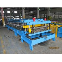 Wholesale 0.4mm - 0.6mm Roofing Tile Making Machinery PPGI Steel Coil Forming Line from china suppliers