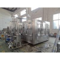 Wholesale Silver Stainless Steel 3 In 1 Filling Machine For Flavored Water 2200 X 2100 X 2200MM from china suppliers