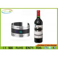 Wholesale Customizable Stainless Steel Liquid Crystal Digital Wine Champagne Thermometer from china suppliers