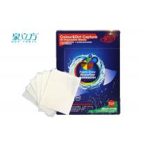 Wholesale Colour Grabber Laundry Sheets Color Absorbing / Colour & Dirt Catcher Sheet from china suppliers