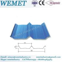 Wholesale Corrugated steel sheet for steel structure building facade WMT-54-410-820 from china suppliers