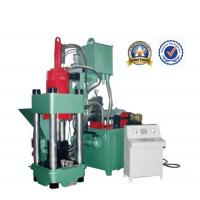 Wholesale Working Smoothly Green Scrap Metal Briquetting Press 45KW Y83 - 400 from china suppliers