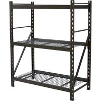 Wholesale 3 Tier Storage Unit Wire Storage Shelves With Wheels Commercial Grade from china suppliers