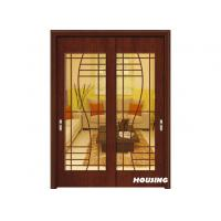 Wholesale MDF Wood PVC Doors With Inward / Outward Swing For Apartment from china suppliers