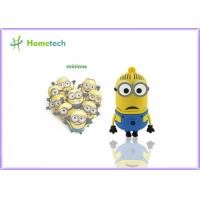 Wholesale Minions usb flash drive disk memory stick Pen drive personalized pendrive 4gb 8gb 16gb 32gb key chain from china suppliers