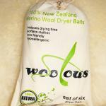Wholesale Handmade 6 pack 9 inch new zealand merino wool dryer balls from china suppliers