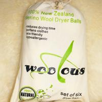Buy cheap Handmade 6 pack 9 inch new zealand merino wool dryer balls from wholesalers