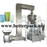 Wholesale automatic coffee beans granule doy pack machine stand up pouch packaging line from china suppliers