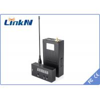 Buy cheap DC12V COFDM Transmitter / security wireless hd video transmitter light weight from wholesalers
