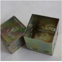 """Wholesale North American Knockout Box 4"""" Square Drawn Junction Box , Wall Mounted Enclosure Box Stamping Box Part from china suppliers"""