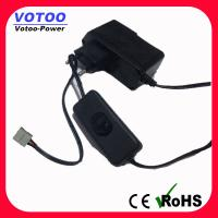 Quality Wall Plug AC DC Power Adapter 1A 110v - 220v Over Voltage Protection for sale