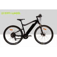 Wholesale Matt Black Electric Mountain Bikes 27 Speed Battery Inside 26.50Kgs Disc Brake from china suppliers