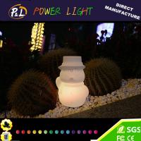 Wholesale Christmas party home decoration LED light snowman from china suppliers