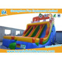 Wholesale Multicolor Giant Commercial Inflatable Slide World Clown Bouncer Slide For Kids from china suppliers