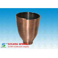 Wholesale Steel Copper Plating Display Specialty Springs Cup Shaped Left Direction from china suppliers