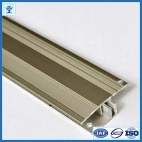 Quality Gold and Champage Anodized Color Aluminum Extrusion Profiles for Flooring Thicknesses 7-17,5 mm for sale